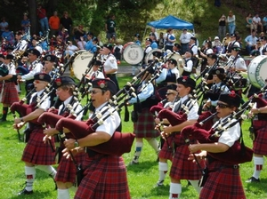 Mohawk Valley Frasers at Central New York Highland Games