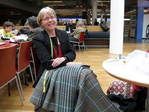 Kiltmaking at Reykjavik Airport